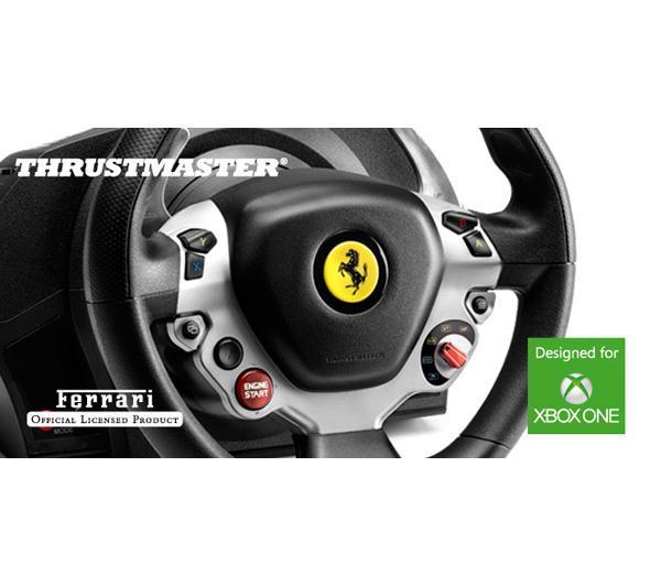 manettes de jeu thrustmaster tx racing wheel ferrari 458 italia edition volant gaming. Black Bedroom Furniture Sets. Home Design Ideas