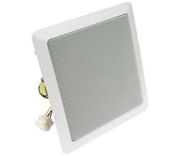 DL18/2SQ vierkante plafondluidspreker 22 cm