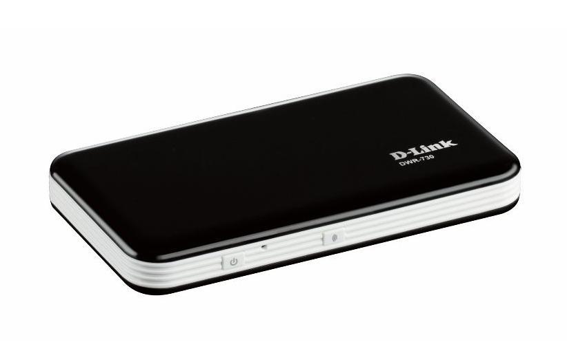 DWR-730 Routeur 3G portable HSPA+ à 21 Mbps Noir
