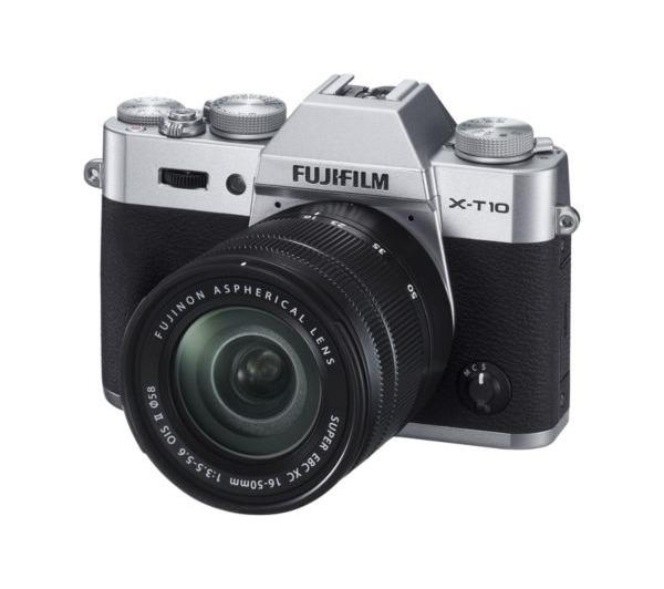 X-T10 digitale camera met 16-50mm lens zilver