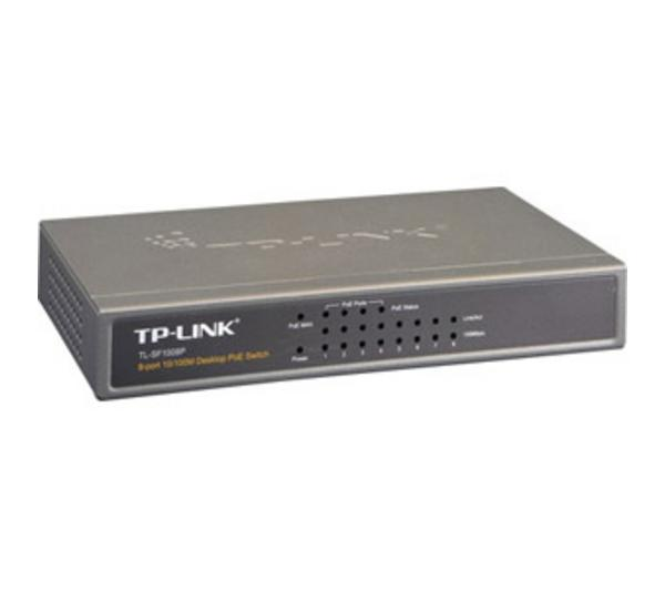 Switch de bureau - - 8 ports 10/100 Mbps - TL-SF1008P