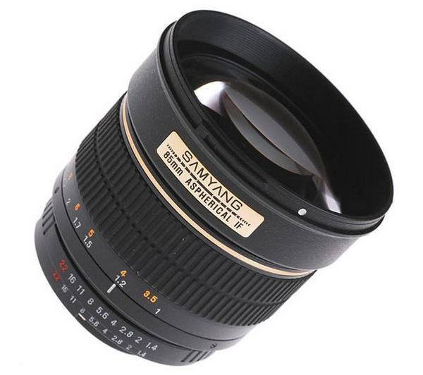 85 mm - f/1.4 IF - Lens voor Canon