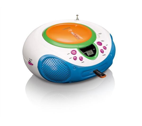 radio cd enfant lenco radio cd scd 40 usb kids. Black Bedroom Furniture Sets. Home Design Ideas