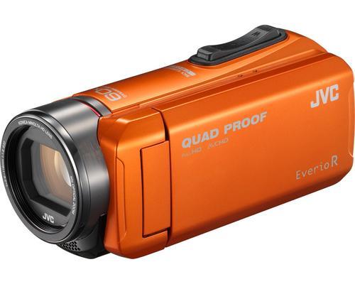 GZ-R405DEU caméscope numérique 10 MP CMOS Caméscope portatif Noir, Orange Full HD