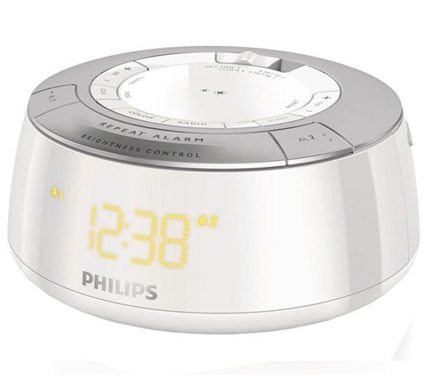 Radio Réveil PHILIPS AJ5000 BLANC