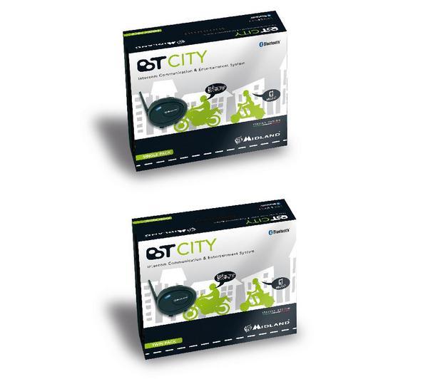BT City Intercom Bluetooth Twin - Walkietalkie
