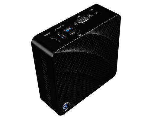 Cubi N 8GL-001BEU BGA 1090 1,10 GHz N4000 0,45L mini PC Noir