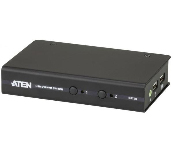 Switch KVM 2 ports DVI-D USB 2.0