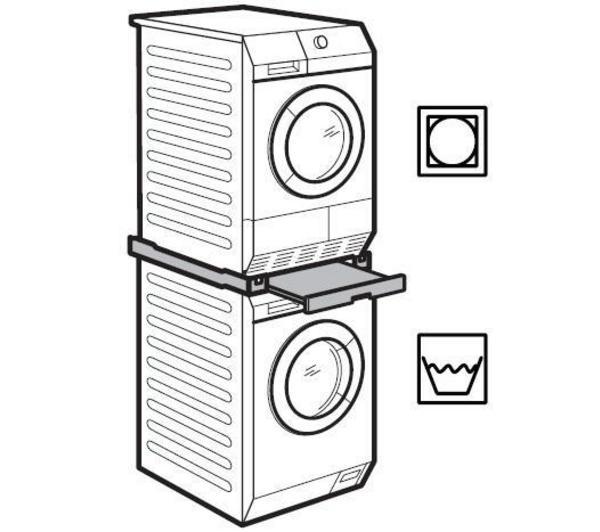 ... - Kit per installazione a colonna di asciugabiancheria e lavatrice