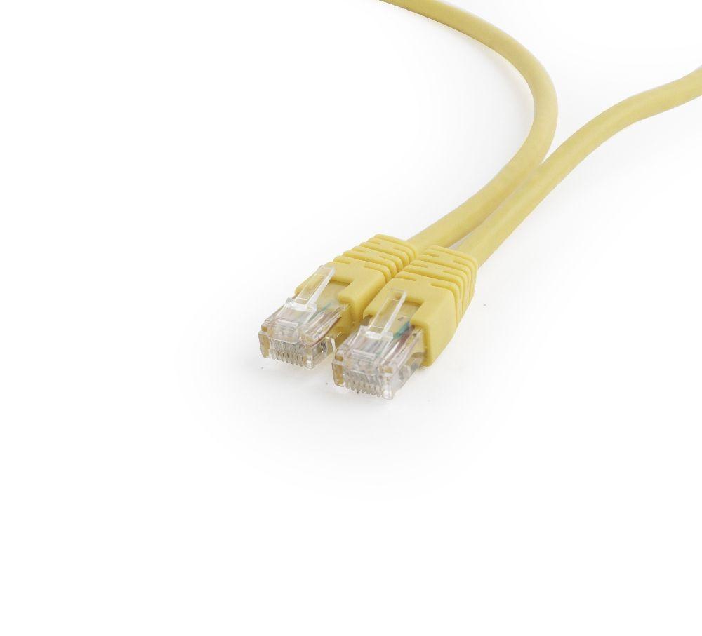 PP6U-0.5M câble de réseau 0,5 m Cat6 U/UTP (UTP) Jaune