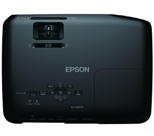 EH-TW570 - Videoprojector Tri-LCD 3D