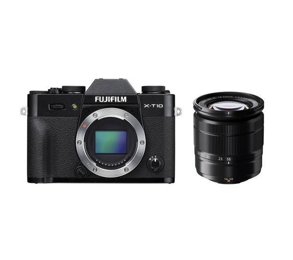 X-T10 digitale camera met 16-50mm lens zwart
