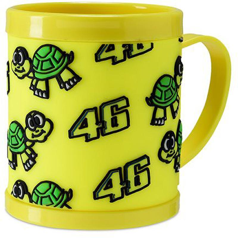 VR46-Mug Plastic Classic Yellow