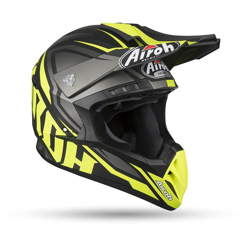 AIROH-Casque cross SWITCH IMPACT