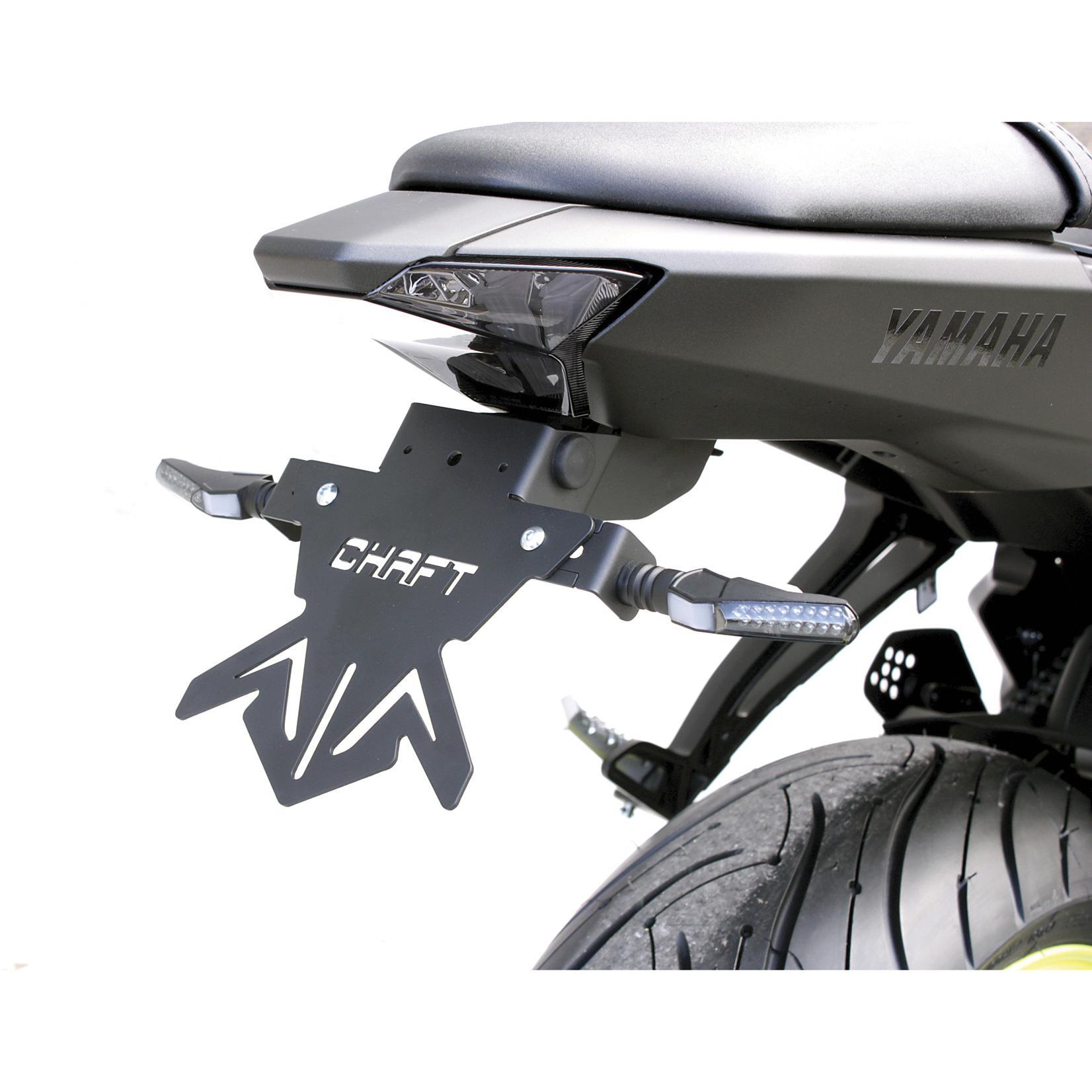 Support de plaque Yamaha MT-07 de 2014 à 2018 CHAFT