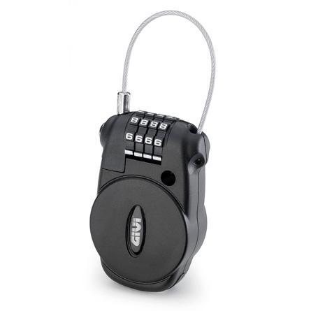 GIVI-Câble à code rétractable S220