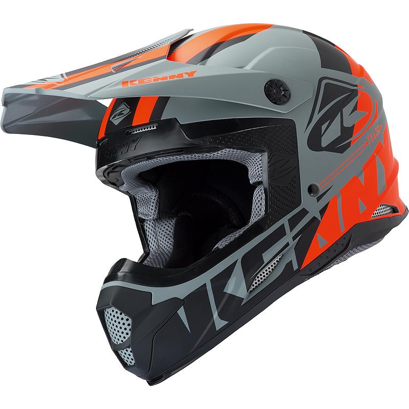 kenny-2-Casque cross TRACK