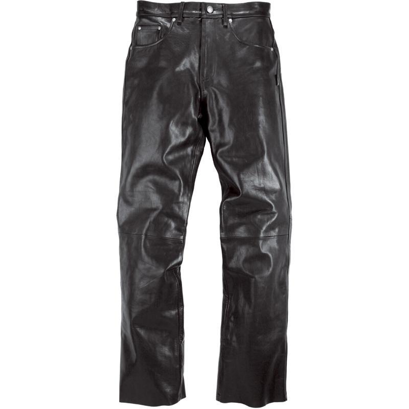HELSTONS-Pantalon Corden Cuir