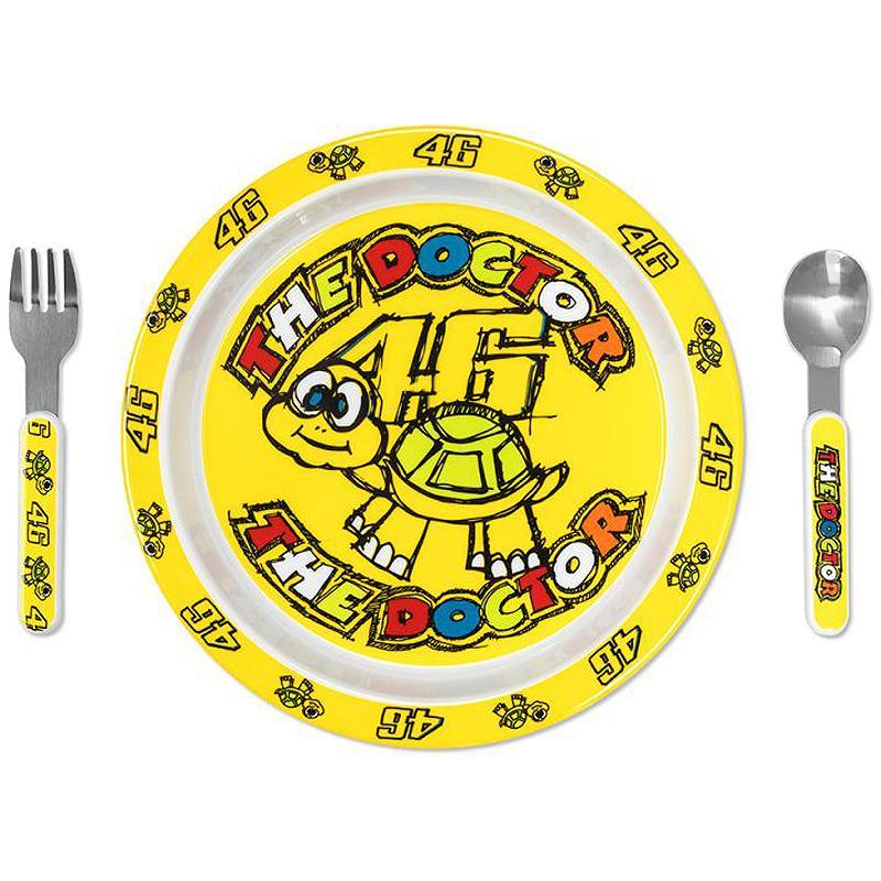 VR46-Assiette Baby Meal Set Multicolor