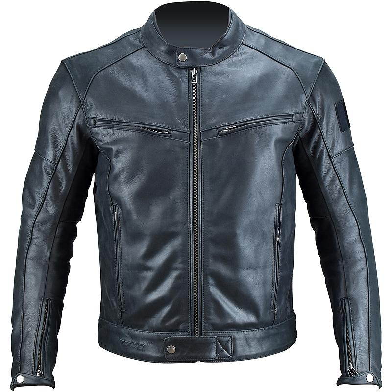 Veste simili cuir officier
