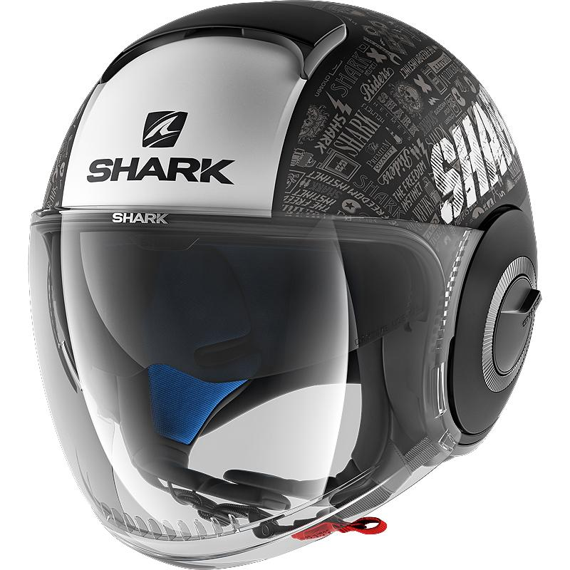 shark-Casque Nano Tribute Rm Mat