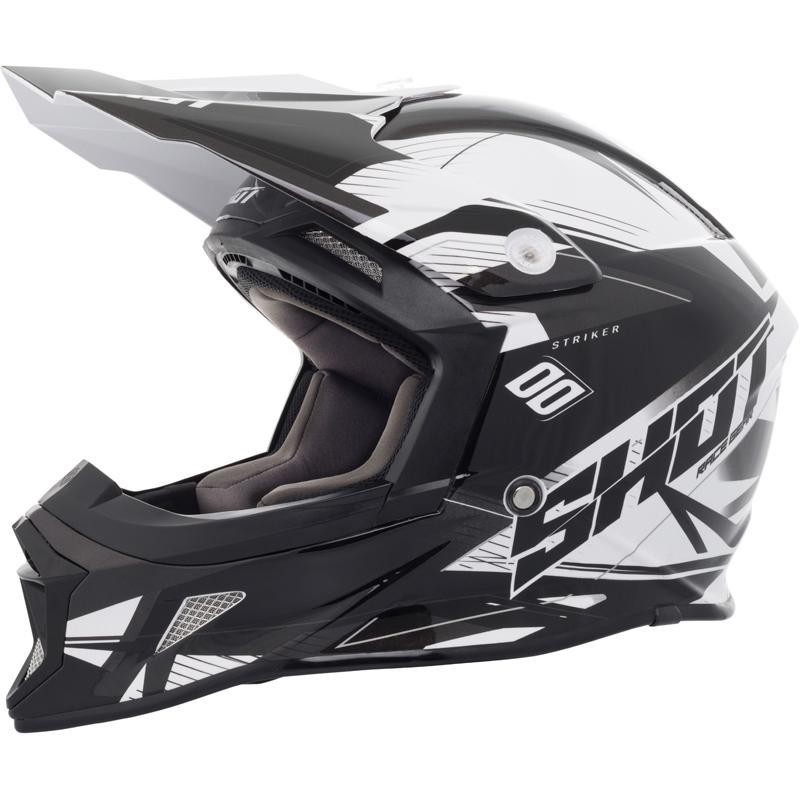 SHOT-Casque cross STRIKER SIDE
