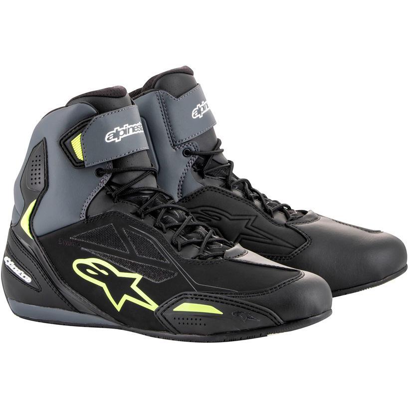 Alpinestars Faster 2 Chaussures /étanches 7 Noir 39