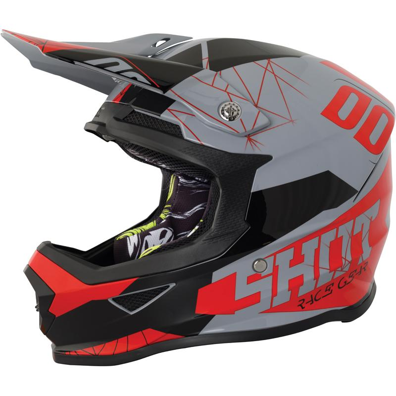 SHOT-Casque cross FURIOUS SPECTRE