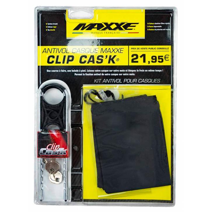 Antivol pour casque Clip Cask MAXXE