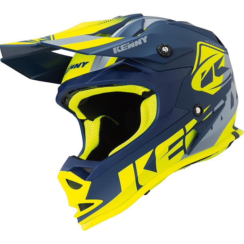 kenny-2-Casque cross TRACK KID