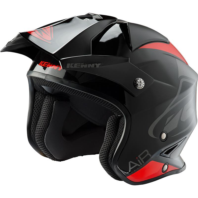 Casque Trial Trial Air Kenny Noirrouge Maxxessfr Casque Cross