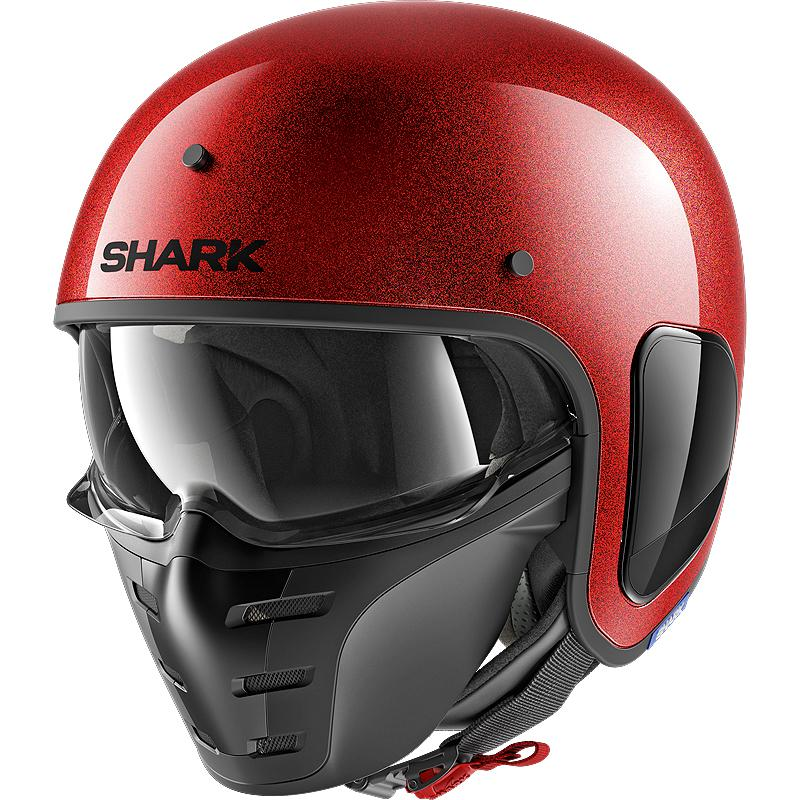 Casque S-DRAK GLITTER SHARK
