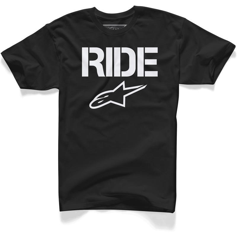 alpinestars-Tee Shirt Ride Solid