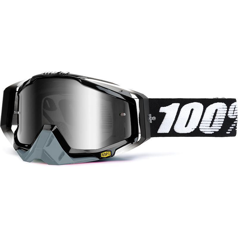 100-Masque cross RACECRAFT ABYSS BLACK