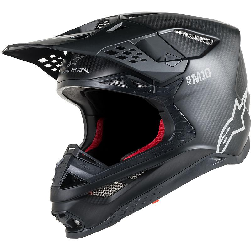 alpinestars-Casque cross SUPERTECH S-M10 SOLID