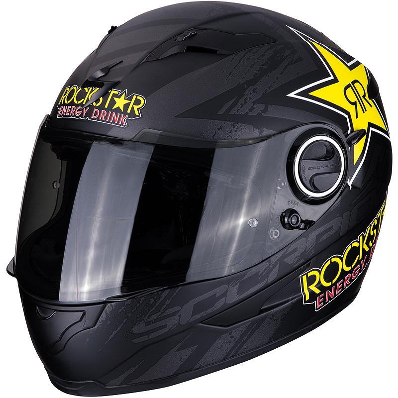 SCORPION-Casque EXO-490 ROCKSTAR