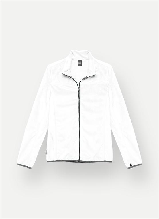 thumbnail Sweat-shirt de ski effet peluche Blanc