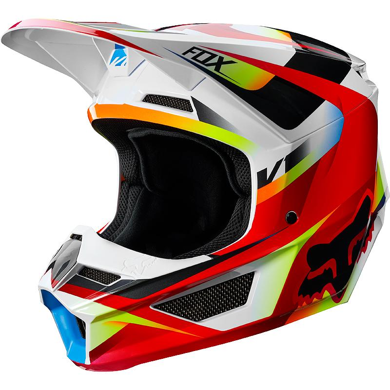 FOX-Casque cross V1 MOTIF