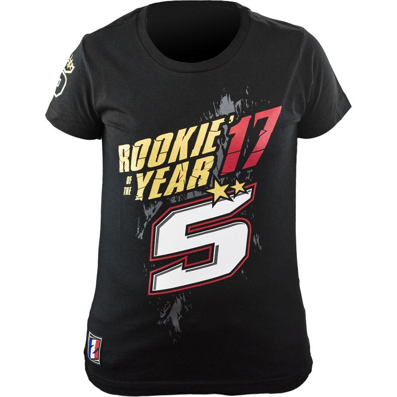 zarco-Tee Shirt Lady Zarco Rookie Of The Year