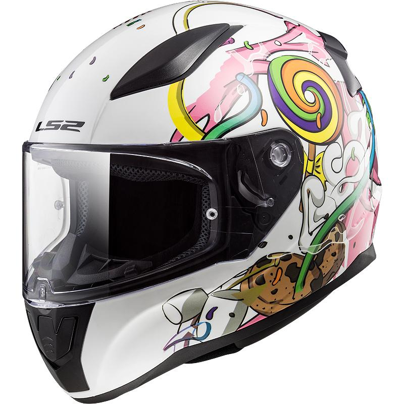 LS2-Casque Ff353J Rapid Mini Crazy Pop