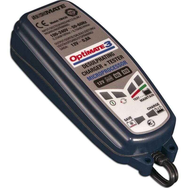OPTIMATE-Chargeur de batterie Optimate 3