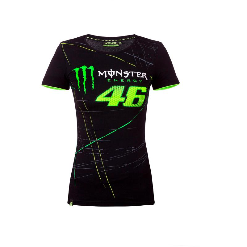 vr46-Tee Shirt Monster Woman Monza