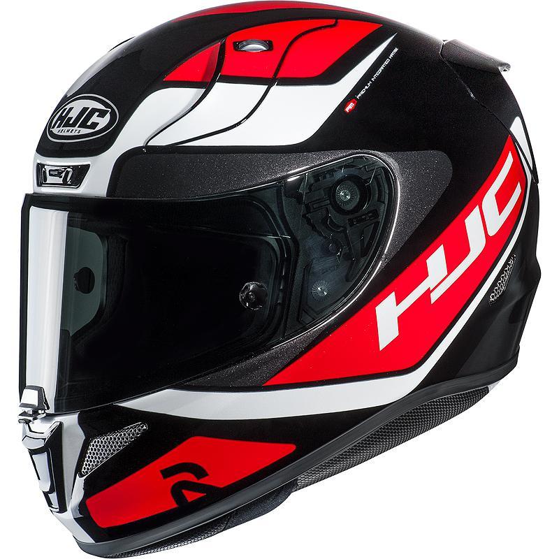 Taille S HJC Casque Moto RPHA 11 Jonas Folger Noir//Rouge