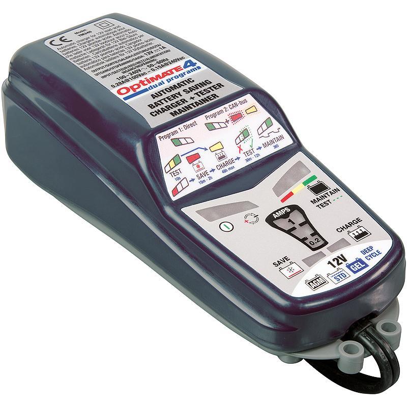 MORACO-Chargeur De Batterie Optimate 4 Dual