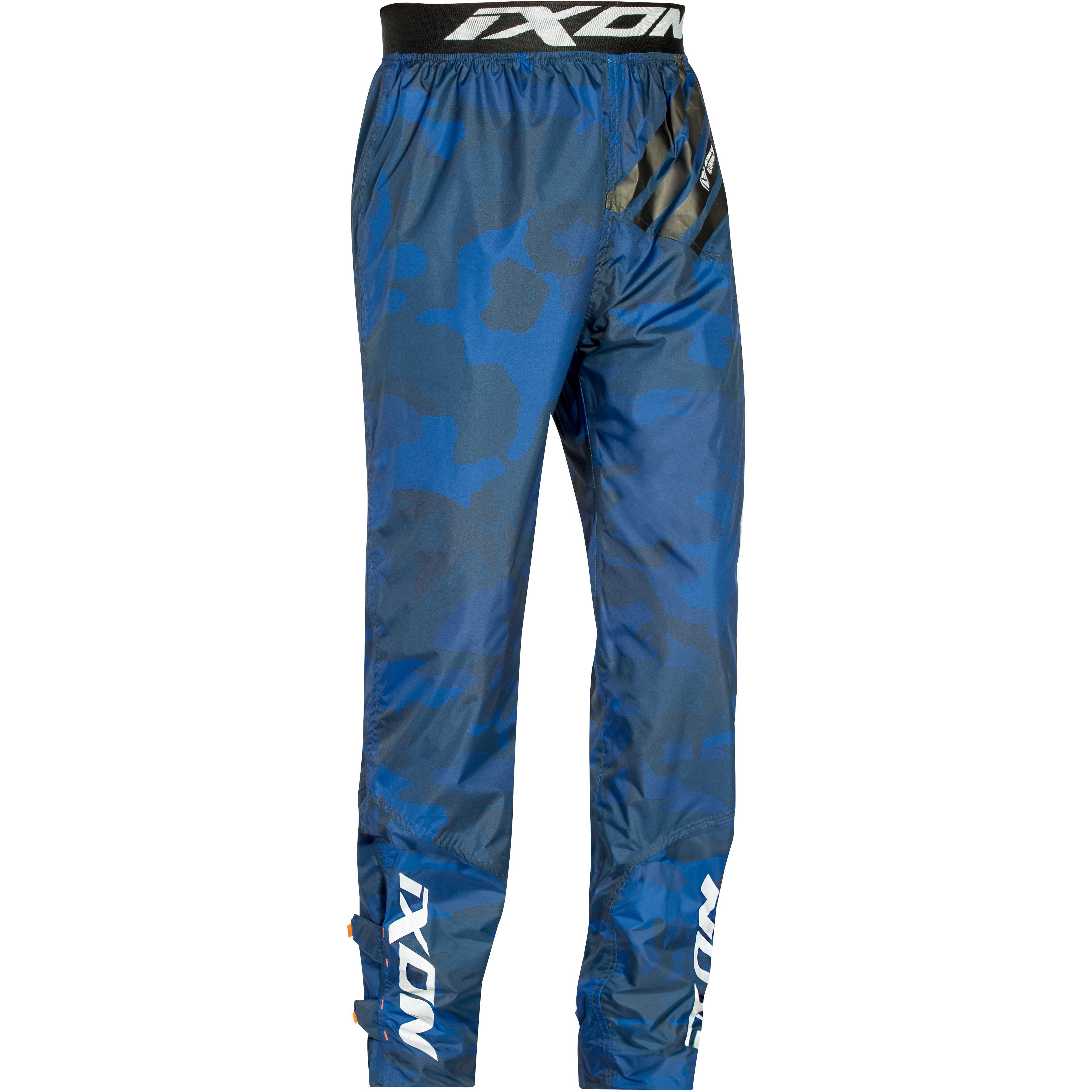 Taille-3XL 1 Grande Poche Pantalon de Pluie Rain Pants One Coutures /Étanches RIDER-TEC
