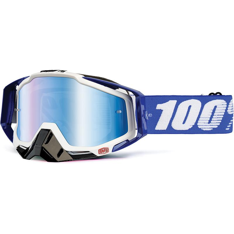100-Masque cross RACECRAFT COBALT BLUE