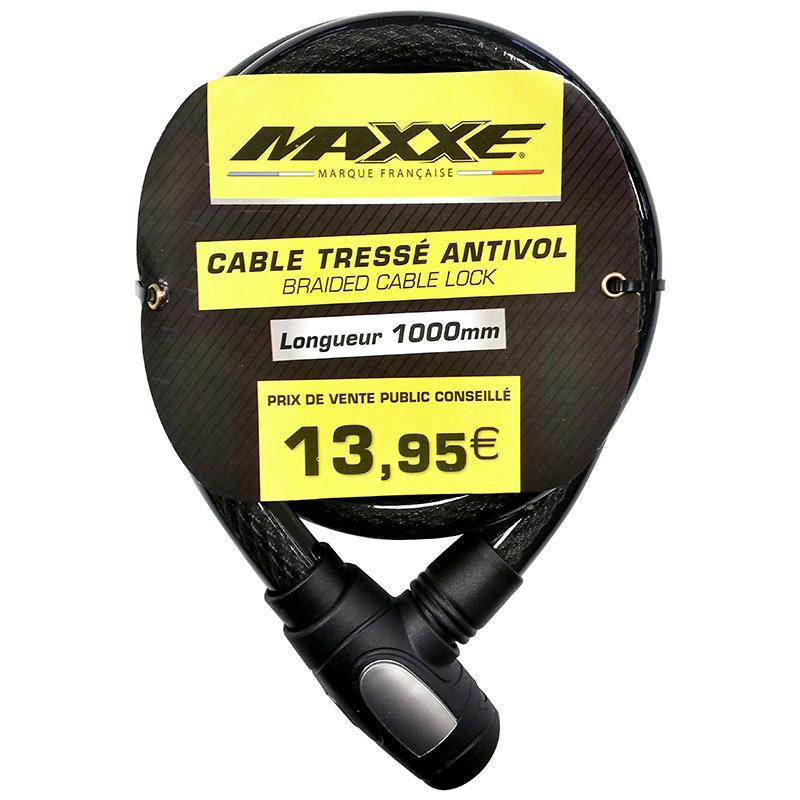 MAXXE-Câble Tressé Non Homologué 1M