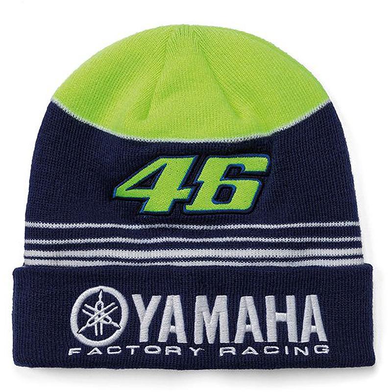9cc129145ac VR46-Bonnet Beanie Yamaha Racing Multicolor