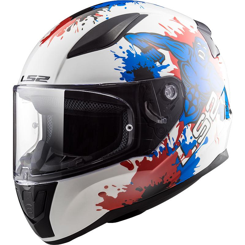 LS2-Casque Ff353J Rapid Mini Monster