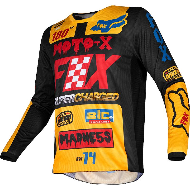FOX-Maillot cross 180 CZAR
